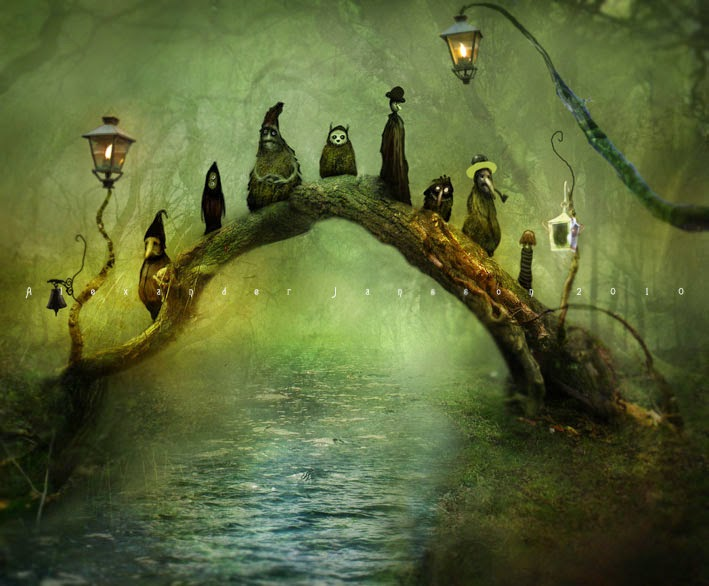 23-Alexander-Jansson-Fairy-tale-Worlds-in-Surreal-Paintings-www-designstack-co