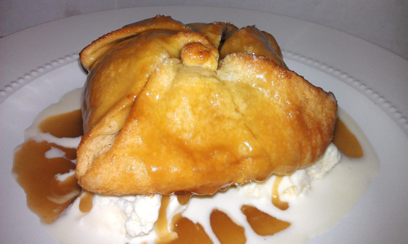 Girl + Food = Love: Bake 52: Apple Dumplings with Caramel Sauce