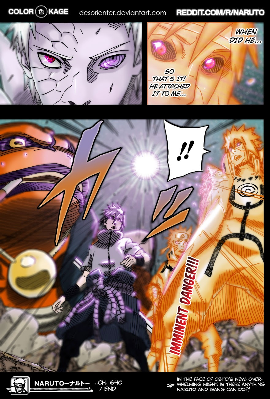 Naruto chap 649 Trang 22