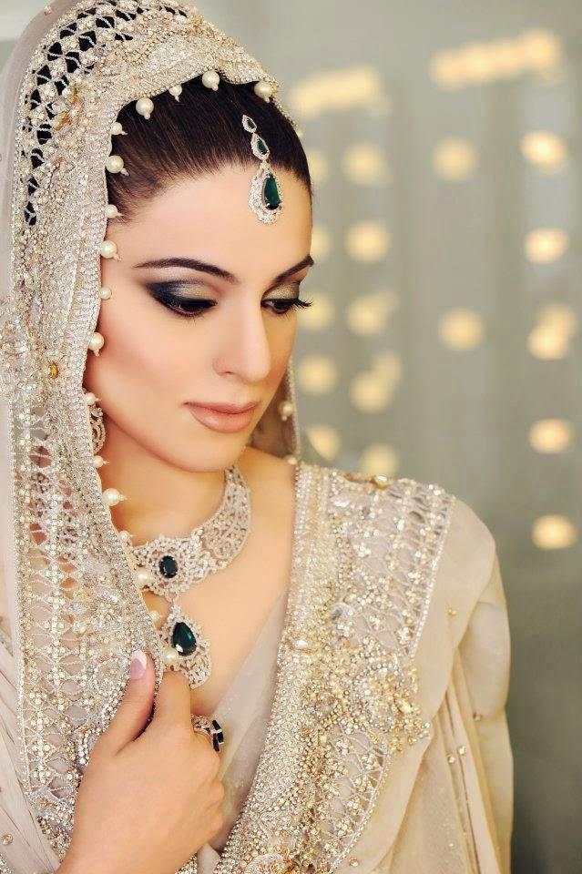Bridal Makeup Looks 2017 : Pakistani Wedding Brides Makeover Ideas 2016-2017 Bridal ...