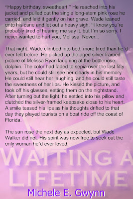 http://www.amazon.com/Waiting-Lifetime-Michele-E-Gwynn-ebook/dp/B00XMWTMHK/ref=sr_1_3?s=digital-text&ie=UTF8&qid=1436997418&sr=1-3