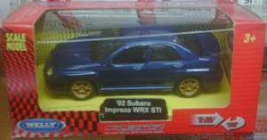 Welly Subaru Impreza WRX (1:43)