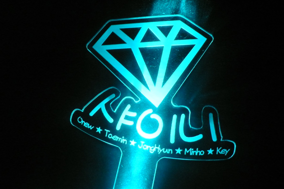 kpop lightsticks F(x) Kpop Red Light