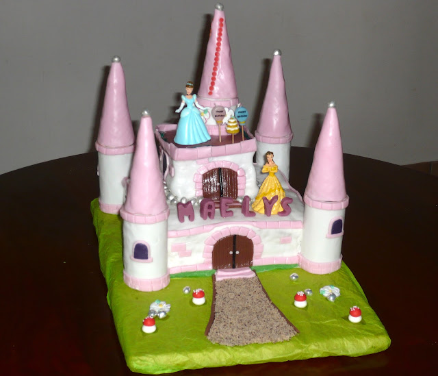 Fantaisies sucr es g teau 3d ch teau de princesses for Image chateau princesse