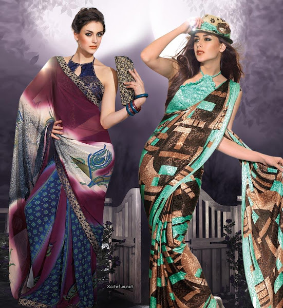 Party Wear Jacquard Saree Collection