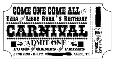 Doc856378 Free Printable Ticket Style Invitations Doc600486 – Printable Tickets Free