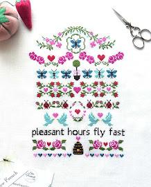 New Pattern ~ Butterfly Bloom!