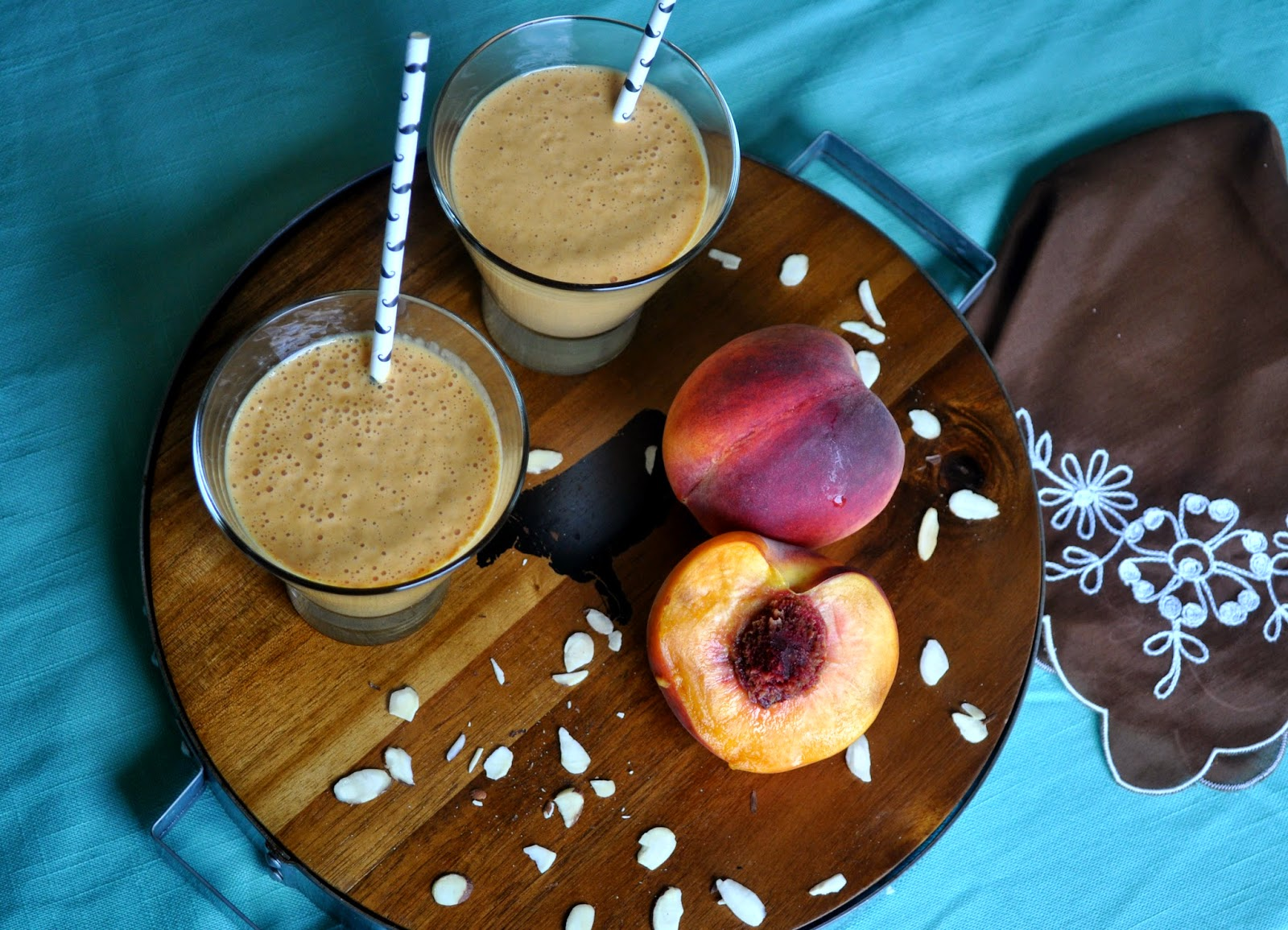 Peach Pie Smoothie