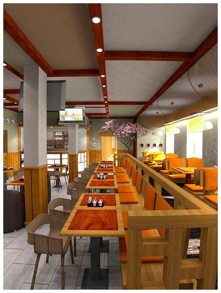 Стеновые панели и декоративные потолки для кафе и