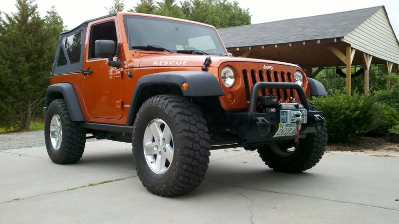 What size tire on jeep jk #3