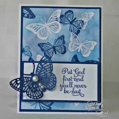 Our Daily Bread Designs Stamp Sets: Belles Vignes, Trois Jolies Papillons, Butterfly and Bugs, ODBD Custom Dies: Fancy Fritillary