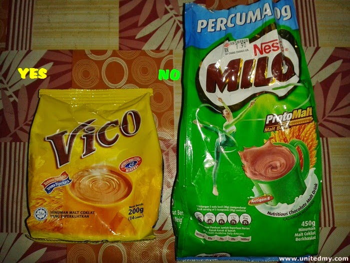 Vico vs Milo in Malaysia