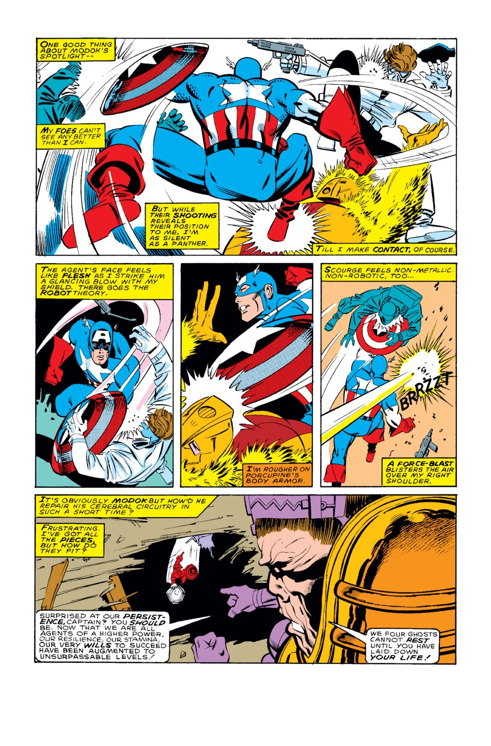 Captain America (1968) Issue #326 #255 - English 16