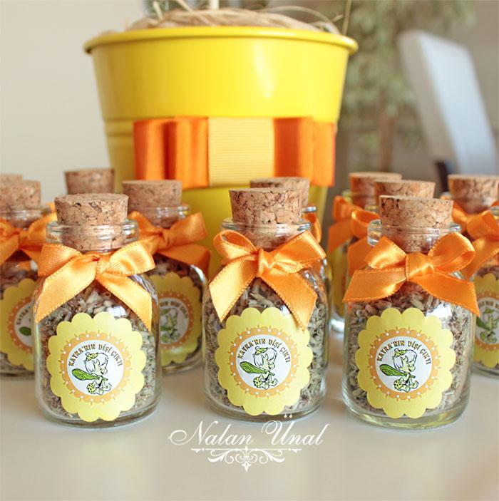 hediyelik mantar tıpalı lavanta şişeleri