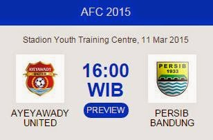 Preview Ayeyawady United vs Persib