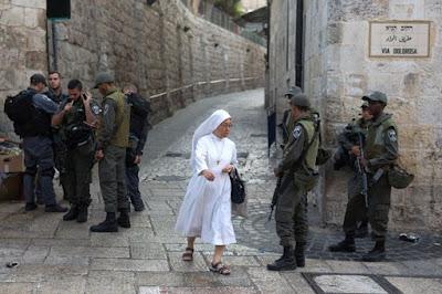 Jerusalém Oriental tem  Natal sem turistas por causa da violência
