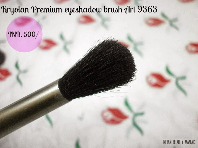 Kryolan Premium Eyeshadow brush Art 9363 blending brush for eye shadow