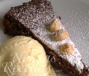 receita simples de brownie de chocolate