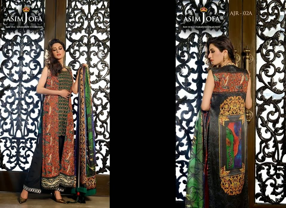 AsimJofaWinterCollection2014 wwwfashionhuntworldblogspotcom 009 - Asim Jofa Winter Collection 2014