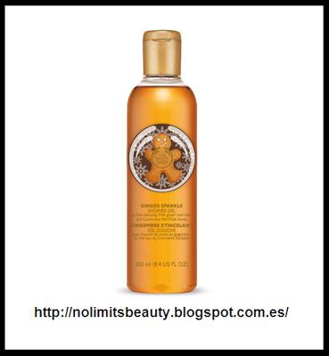 Ginger Sparkle Shower Gel de The Body Shop