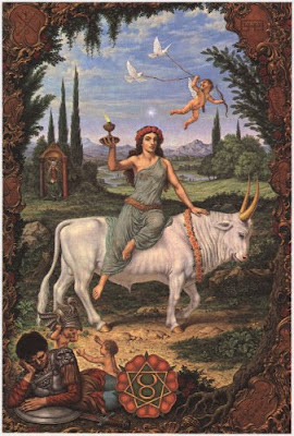 Os doze trabalhos de Hércules (Enfoque astrológico) 2-TOURO+2