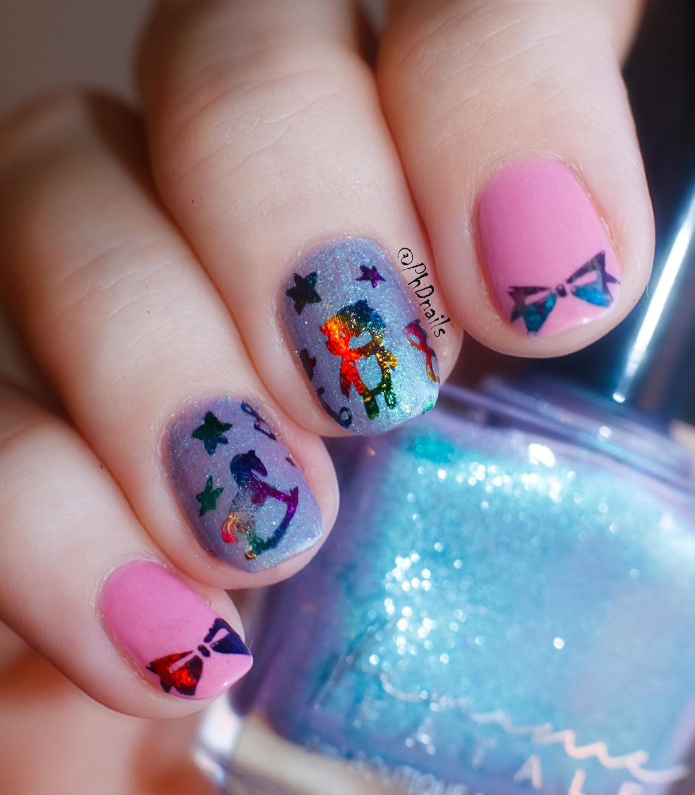 PhD nails: Challenge your nail art: foil stamping nail art ...