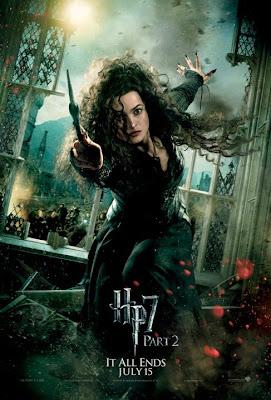 Harry Potter y las reliquias de la muerte. Parte 2. Poster Bellatrix