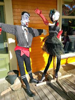 Nova Scotia, Scarecrow Festival, Mahone Bay