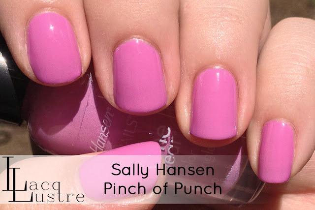 Sally Hansen Pinch of Punch swatch