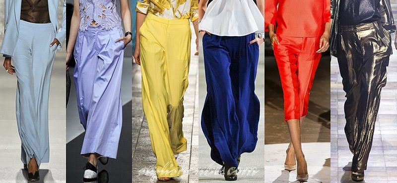 Spring Summer 2014 Women's Pants Fashion Trends
