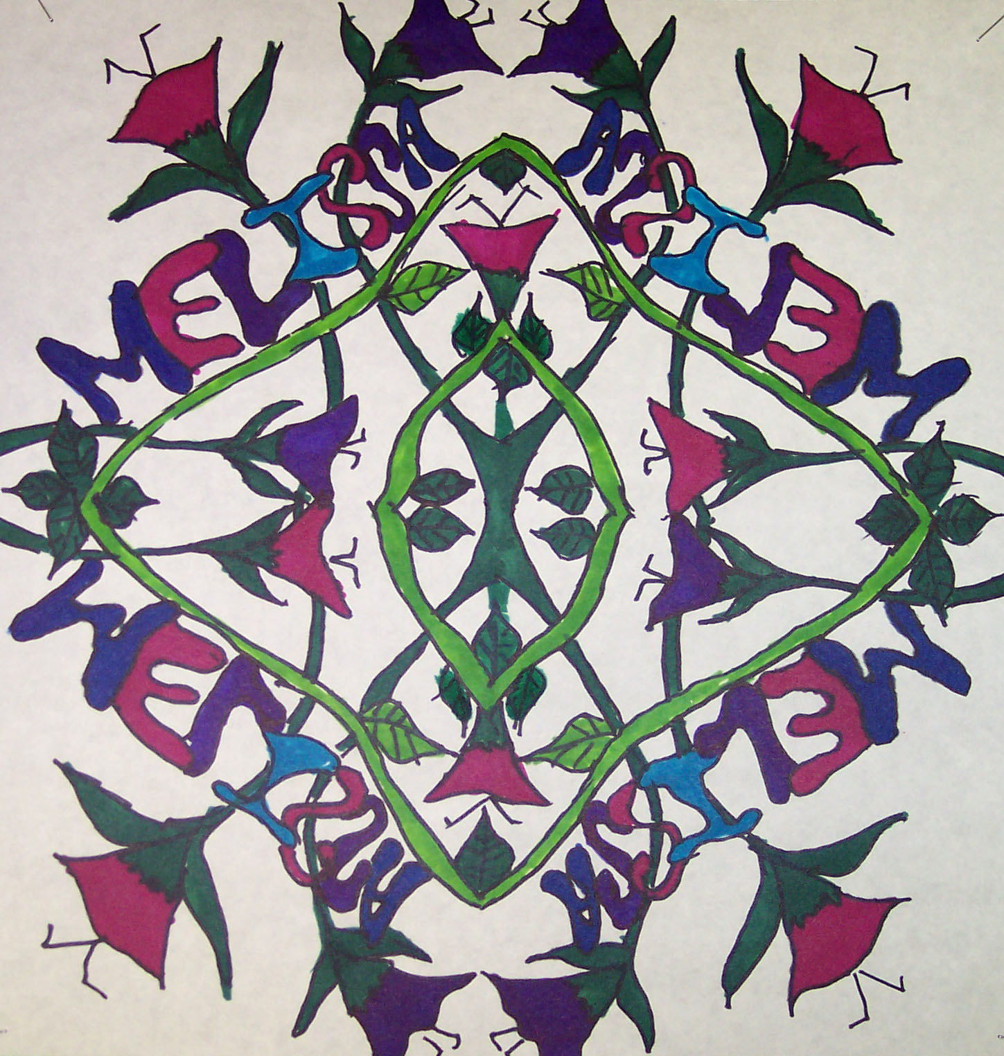 Welcome Radial Symmetrical Designs
