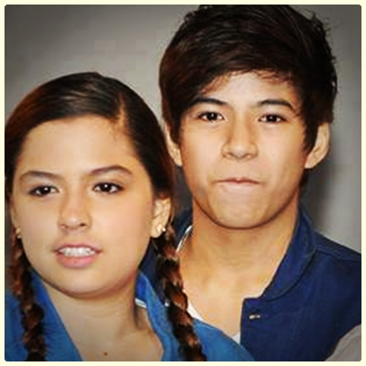 Alexa Ilacad and Nash Aguas