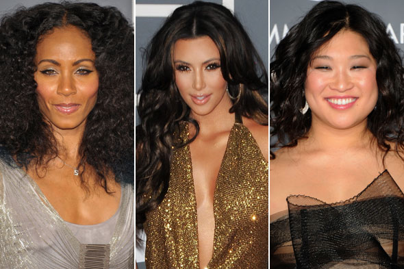 Grammys 2011 Hair Trends: Hair Extensions, Braids And Textured Redhead