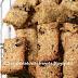 Barrette con quinoa, farina di farro e frutti rossi