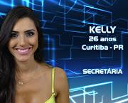 Kelly BaronA curitibana de 26 anos é secretária mas estudou Direto no . (kelly)