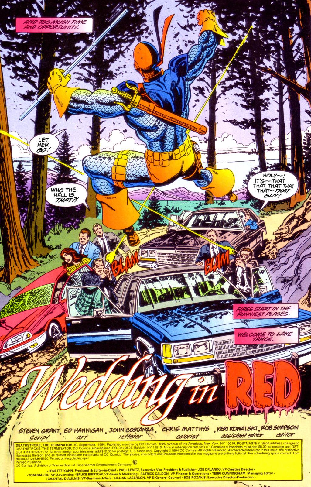 Deathstroke (1991) Issue #40 #45 - English 3