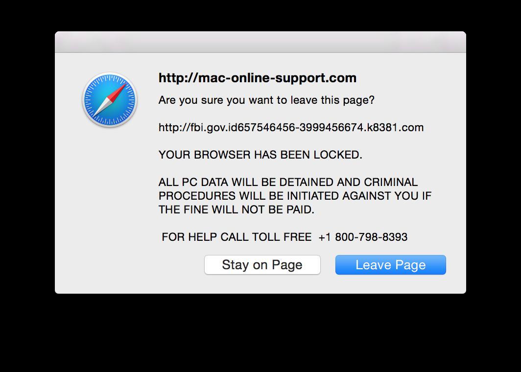 how to stop pop ups on macbook pro safari