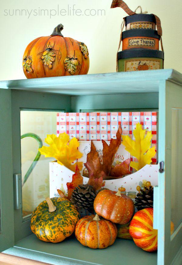 fall decor at Walmart, Fall Farmhouse Kitchen Decorating Ideas