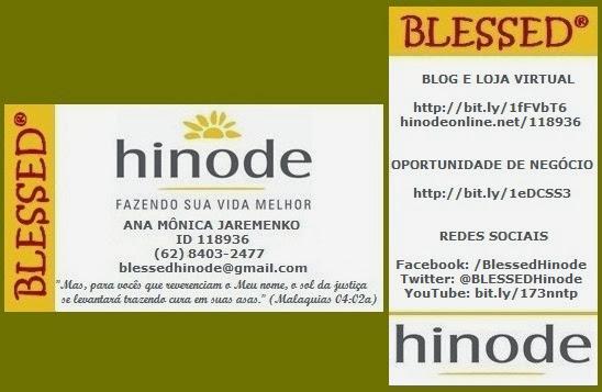 Cartão de Visitas | BLESSED Hinode