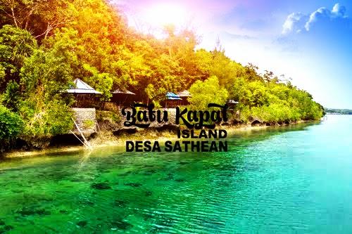 Pesona Pulau Batu Kapal - Desa Sathean