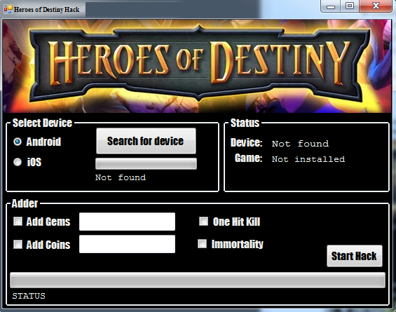 Heroes of Destiny Hackz: Heroes of Destiny Hack Working on iOS | iPhone ||  Android