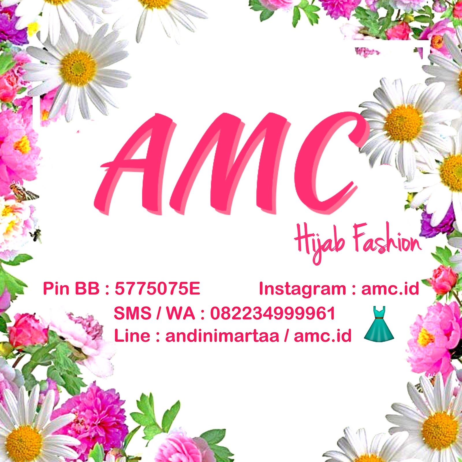 "Instagram Toko ""AMC Hijab Fashion"""