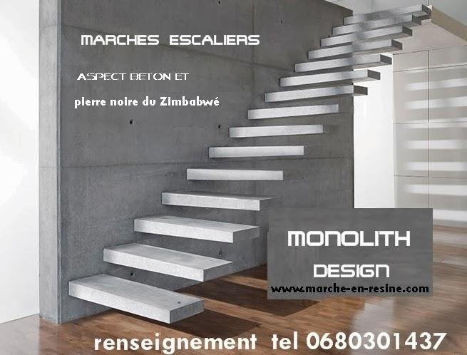 Marches D Escalier En Beton Cire Escalier Suspendu Concrete Steps