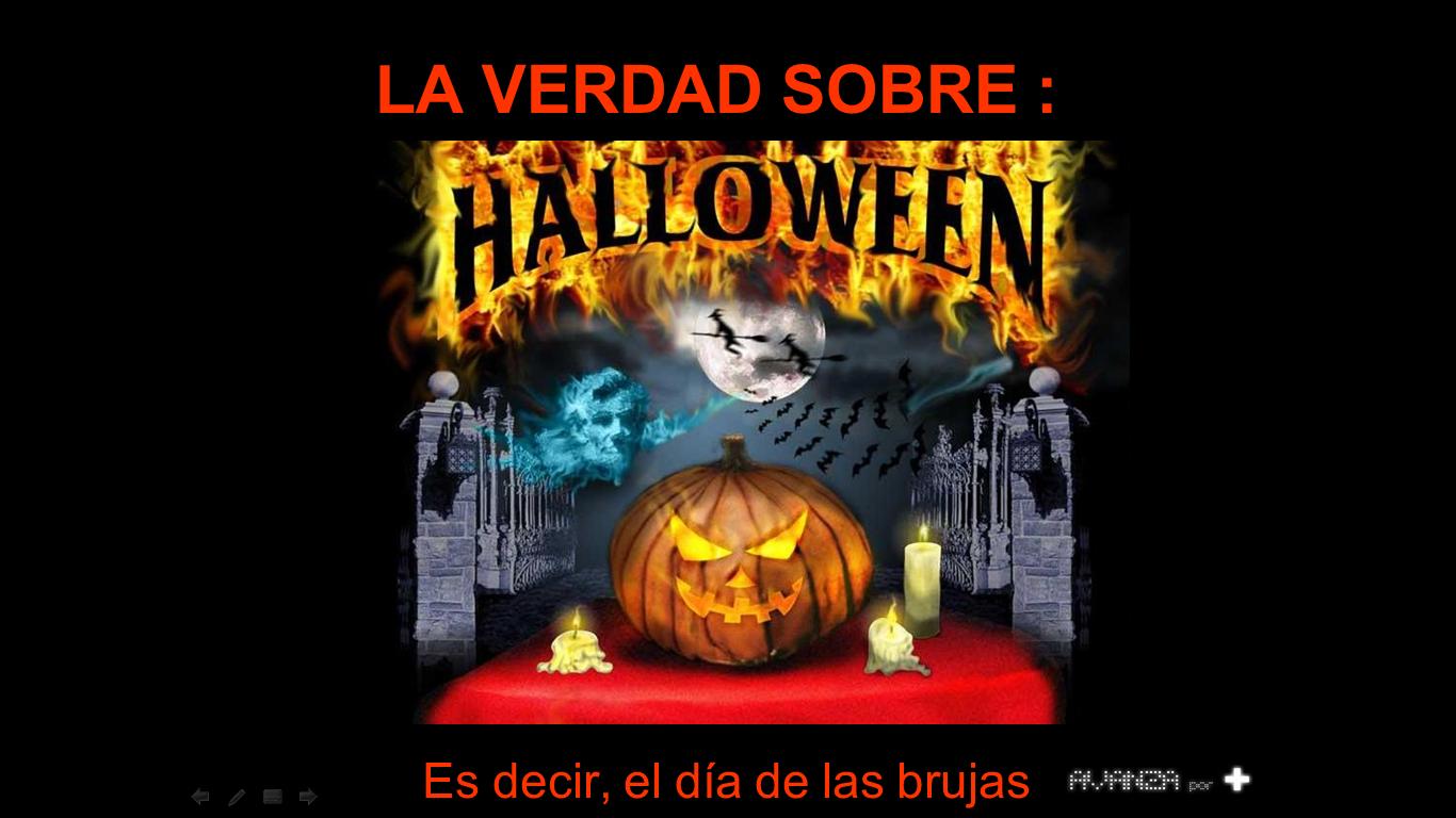 """señal a fondo: dile """"no"""" a halloween"""