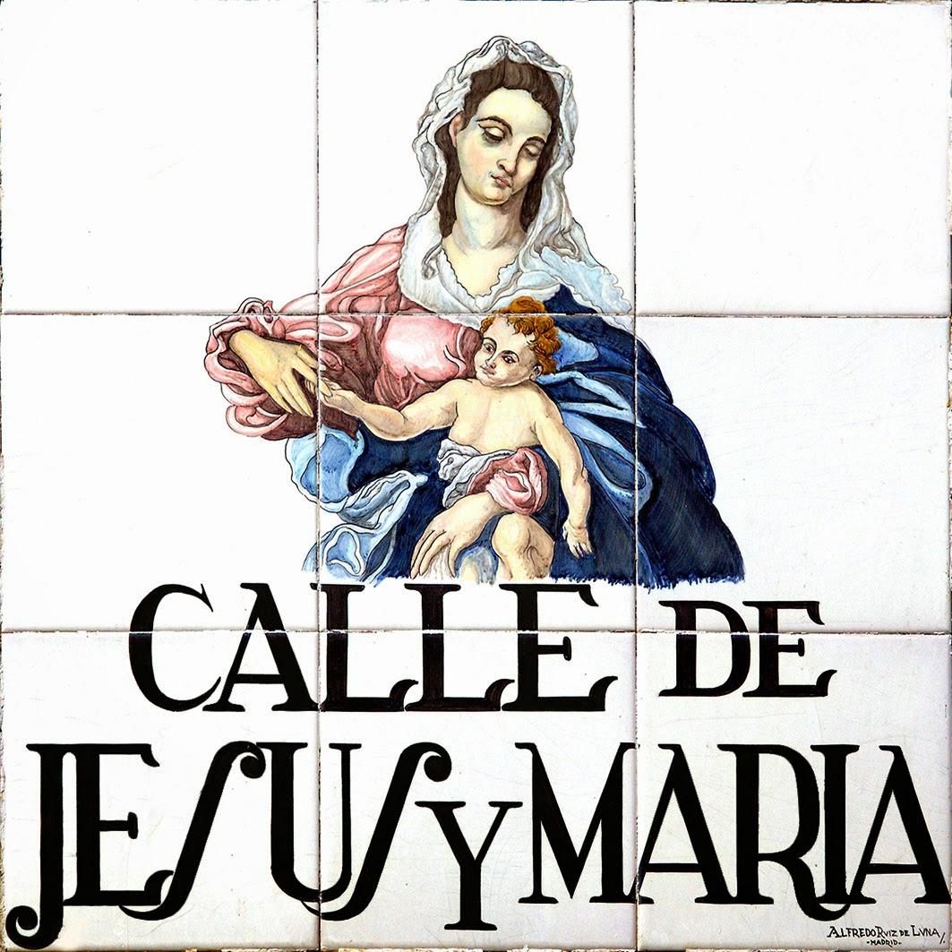 Calle de Jesús y María