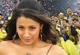 Trisha Brand Ambassador for Chennai CCL Cricket