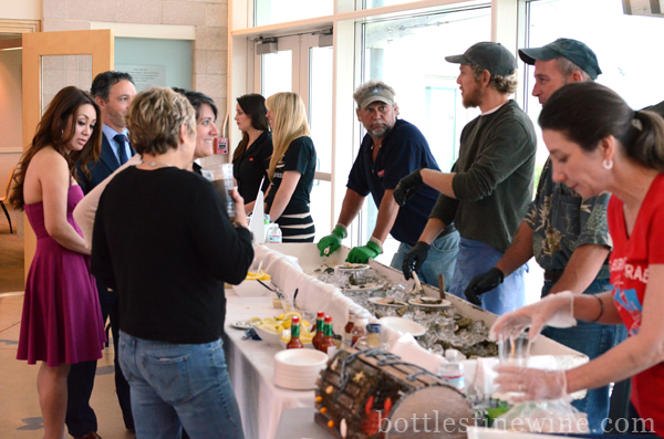 """Save the Bay"" Narragansett, shucking, clams, oysters, shuckers, seafood"