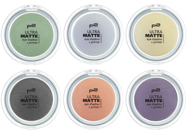 p2 ultra matte eye shadow + primer