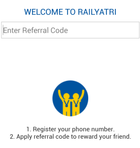 railyatri refer and earn paytm cash