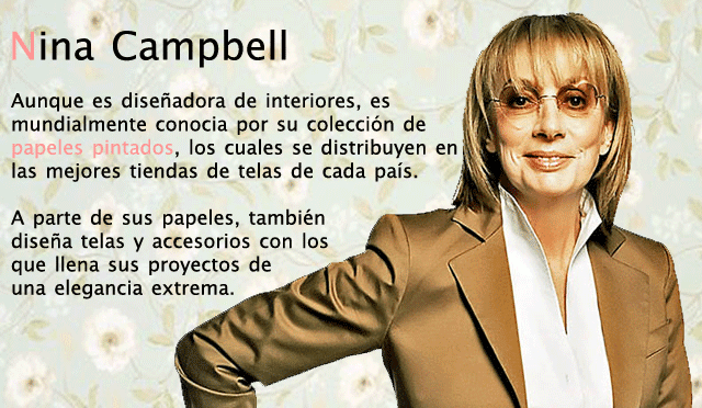 Nina Campbell wallpapers